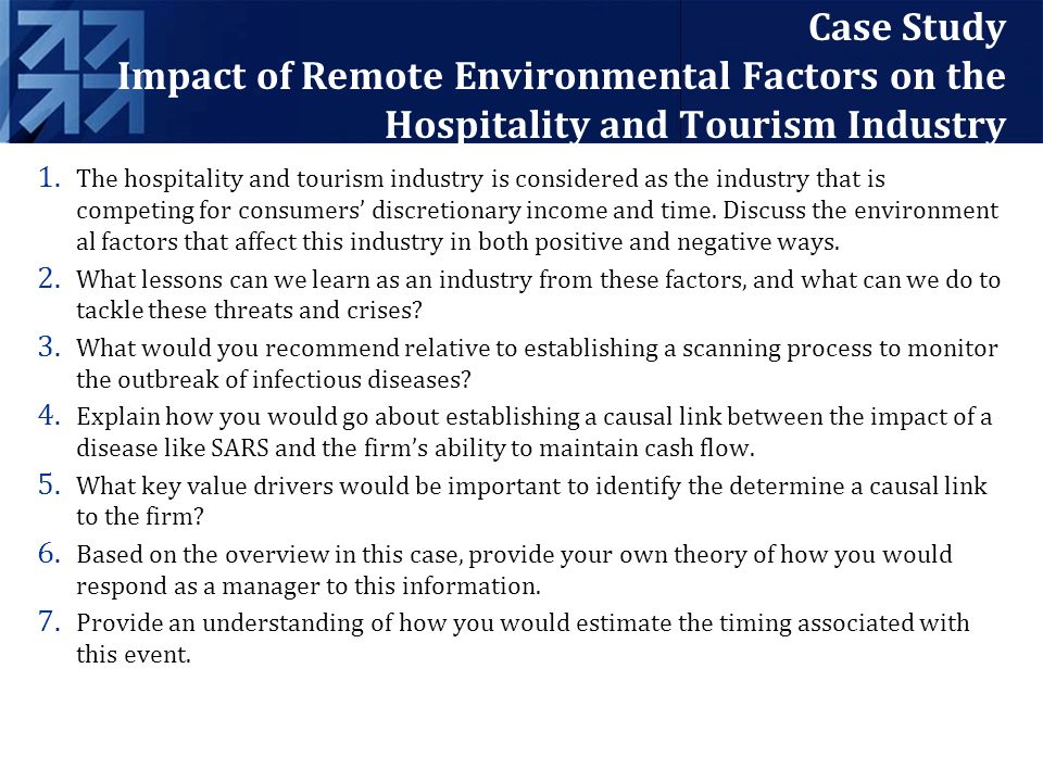 strategies and impacts of internationalization in hospitality industry tourism Technology's effect on hotels and restaurants: building a strategic competitive advantage dean a koutroumanis university of tampa the changing face of technology has played an integral role in the development of the hotel and.