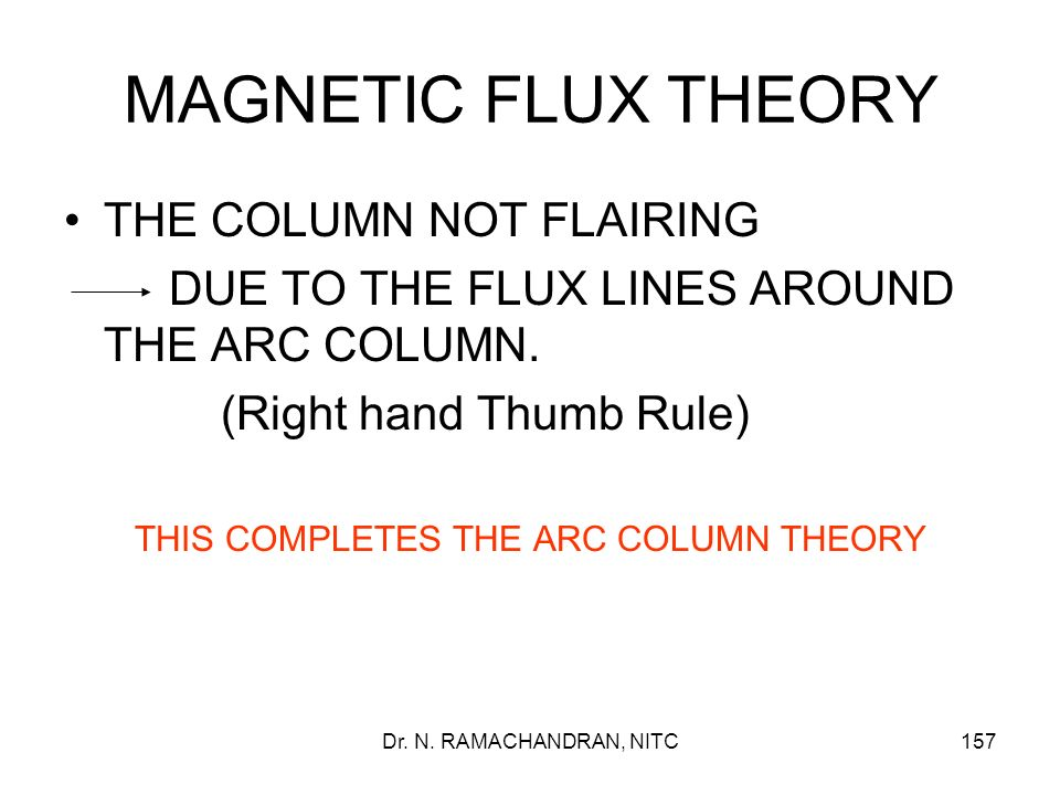 THIS COMPLETES THE ARC COLUMN THEORY