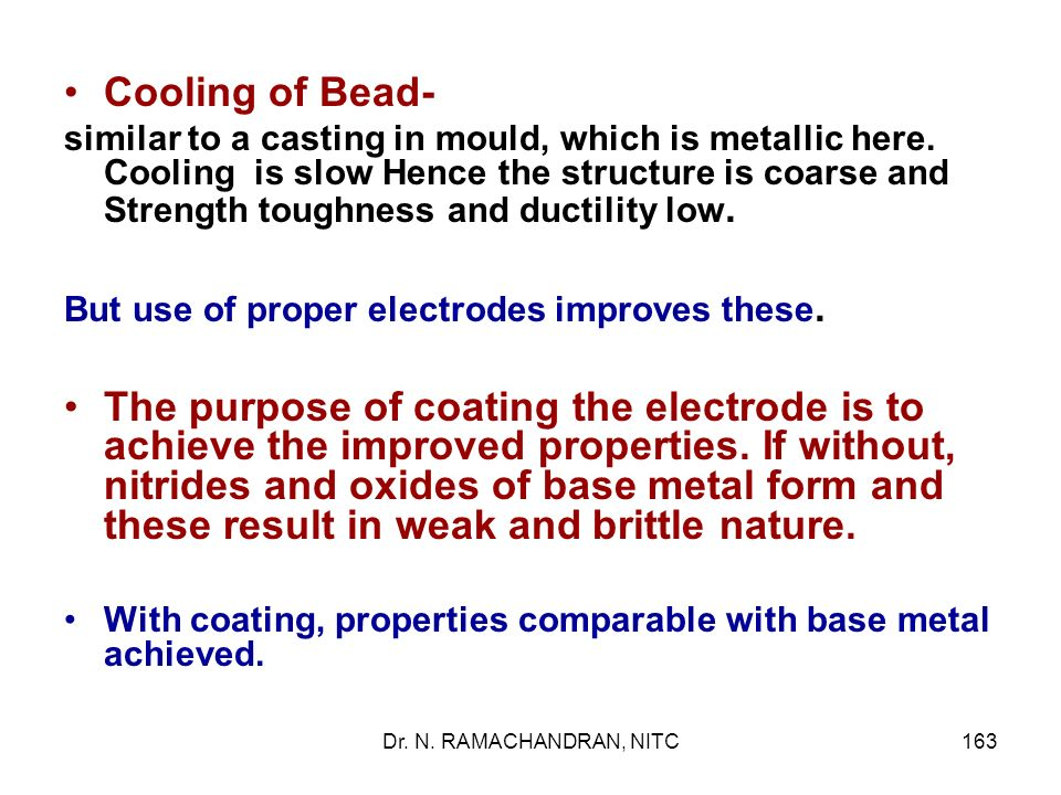 Cooling of Bead-