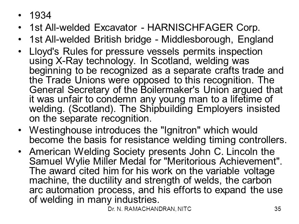 1st All-welded Excavator - HARNISCHFAGER Corp.