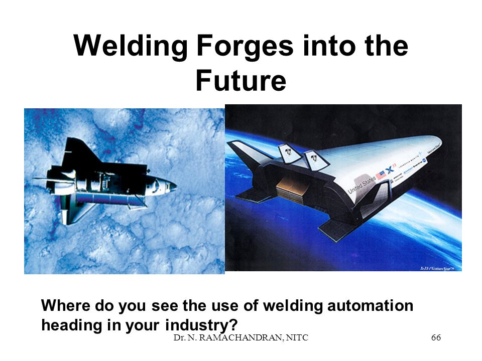 Welding Forges into the Future