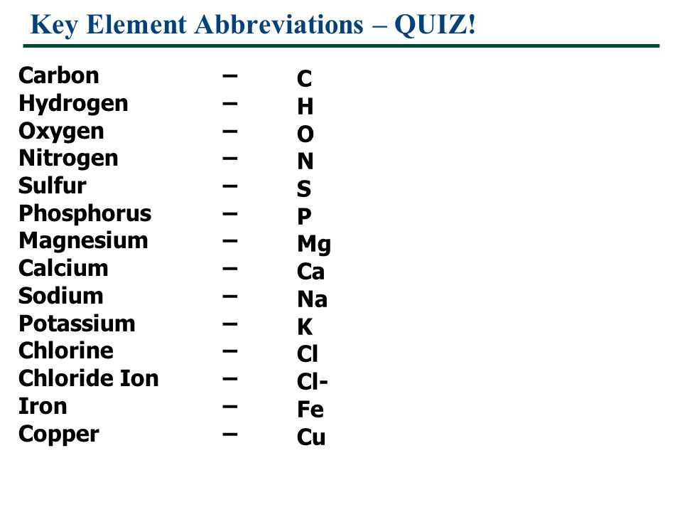 Periodic table elements abbreviations quiz periodic diagrams science key element abbreviations quiz essential chemistry for biology ppt chemical elements and periodic table urtaz Images