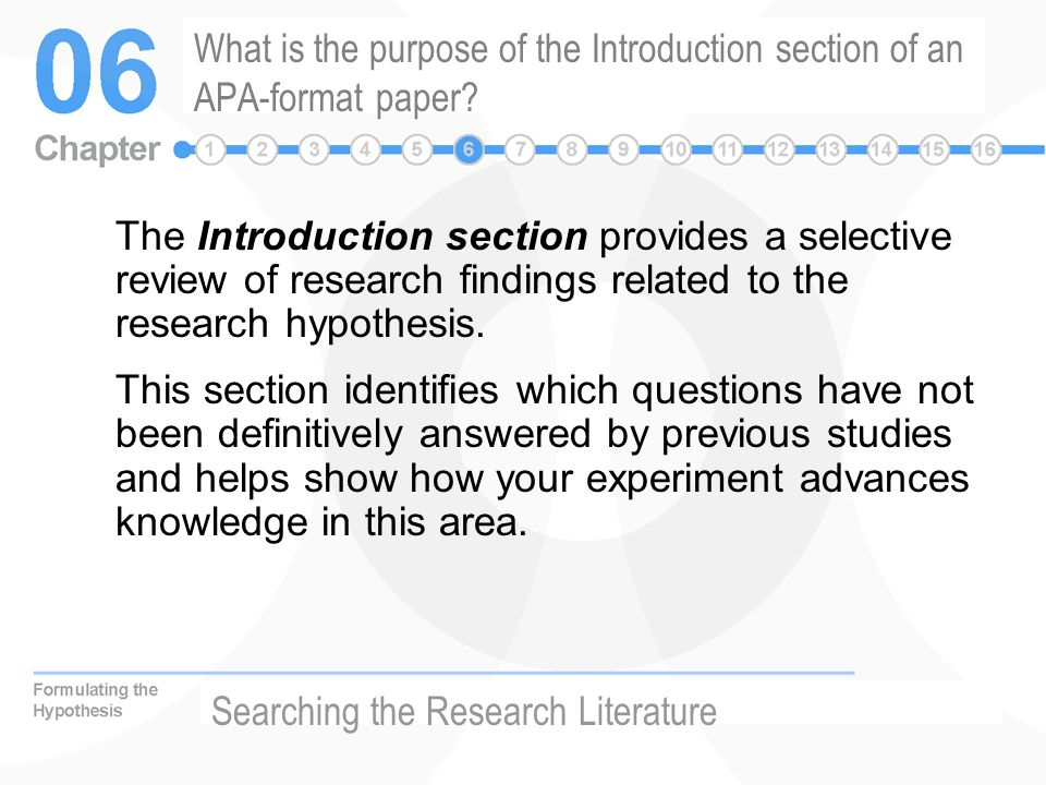 How to Write an APA Style Research Paper Introduction [INFOGRAPHIC]
