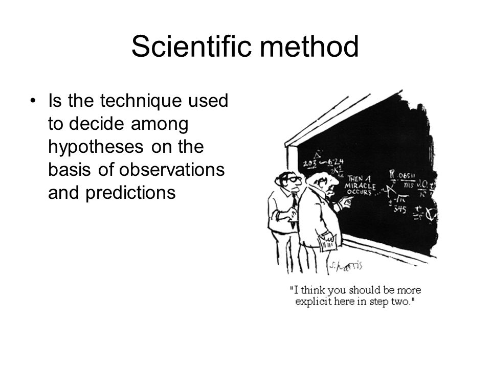 the basis of scientific method Module topic: the basics of scientific method objectives: at the end of this review, the students should be able to: define what is the scientific method, know the different steps of the scientific method and be able to perform the different steps of scientific method activity: word search.
