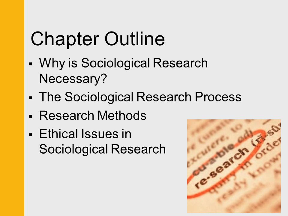 Research method ethical issues
