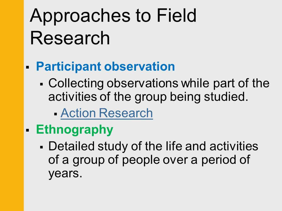an analysis of observation and person involved Chapter 7 participant observation research outline : concepts: i the role of participant nonexperimental inquires completes as subjects are involved in the natural course of their lives autobiography of a person obtained through interview and guided conversation.