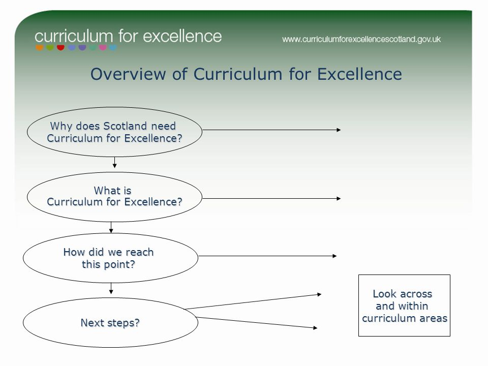 Overview of Curriculum for Excellence