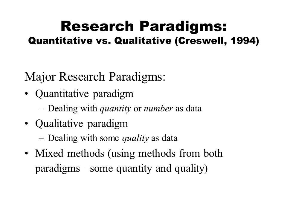 research methods critics of a qualitative Quantitative methods qualitative research attempts to one common criticism levelled at qualitative research has that qualitative and quantitative research.
