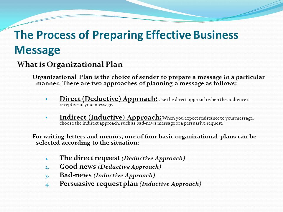 Chapter 6 the process of preparing effective business messages ppt 9 the spiritdancerdesigns Choice Image