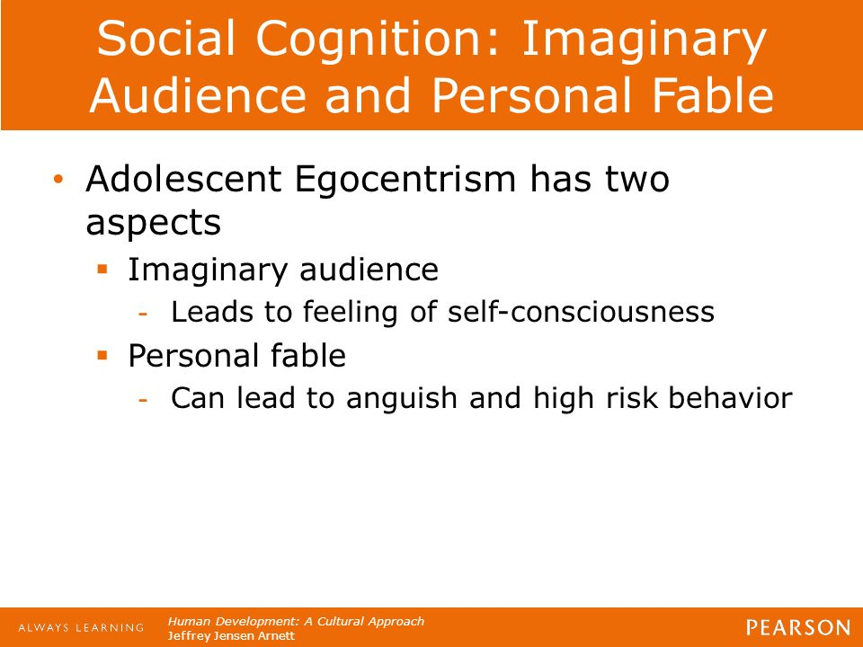 """aspects of adolescent egocentrism It encompasses two different aspects first, the concept of """"imitation""""  evidently, adolescent egocentrism manifests itself only in specific contexts,."""