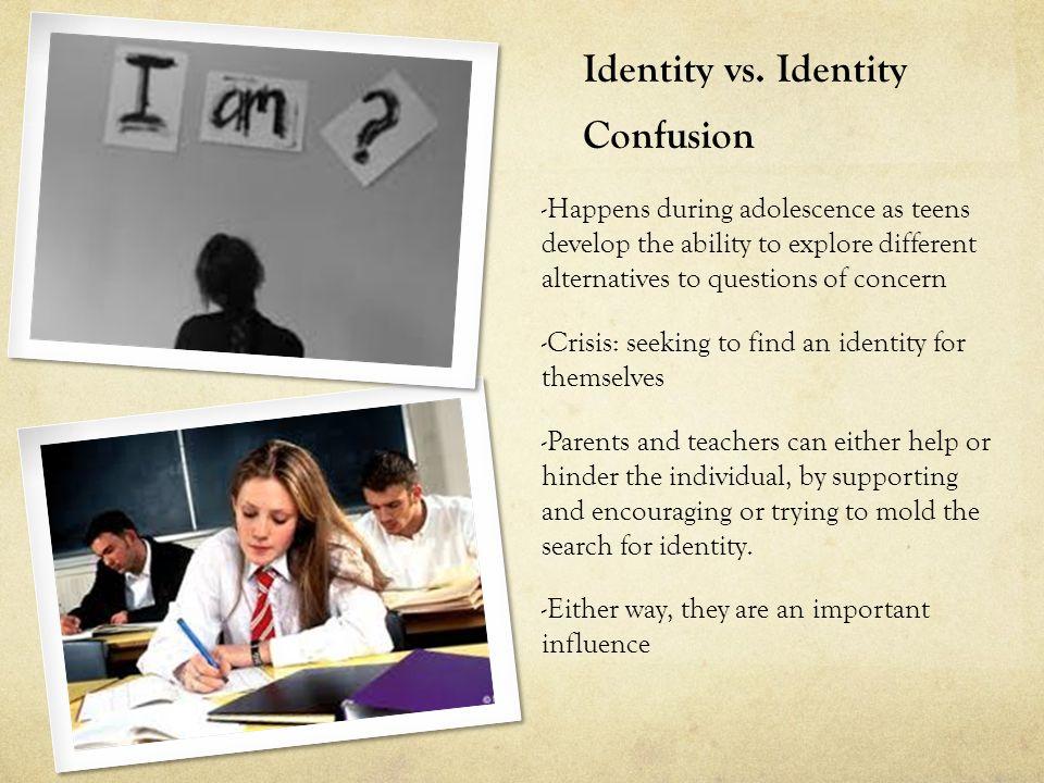 identity vs confusion