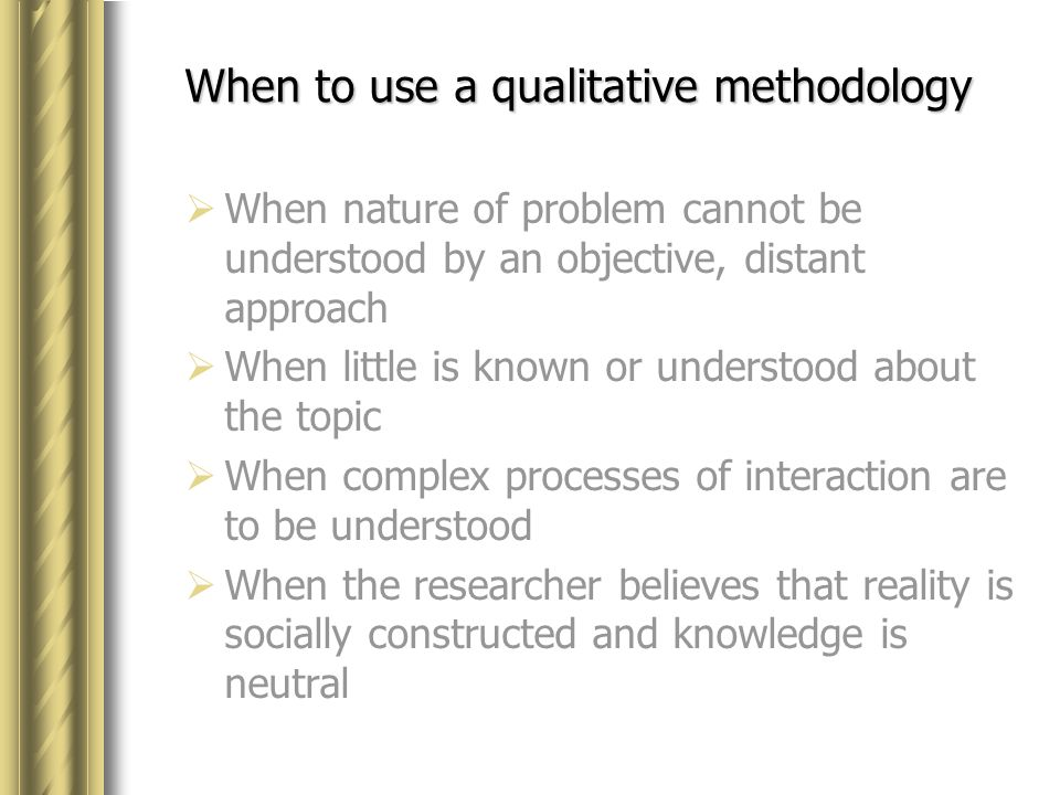 phenomenological qualitative research and research methodology The goal of research under the phenomenological doctrine is the development of theories through explanatory methods rather than through the creation of.