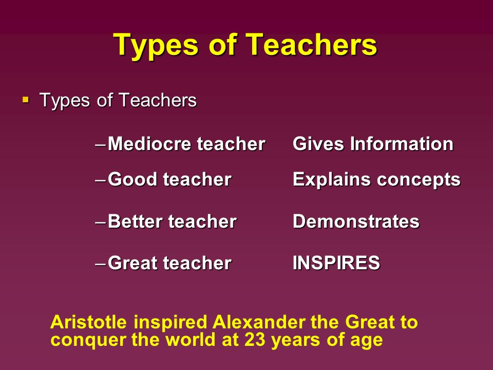 kinds of teachers Hola q+a at end of month and shoutout if you comment below here is my overview of different types of teachers if you want me to go into detail tell me.