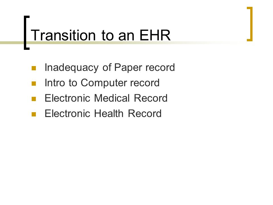 ehr paper 2 Meaningful use white paper series paper no 4: meaningful use and ehr certification published september 2, 2010 meaningful use and ehr certification.