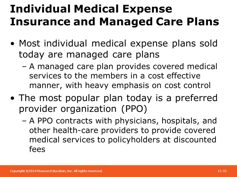 Chapter 15 health care reform individual health insurance for Preferred plans
