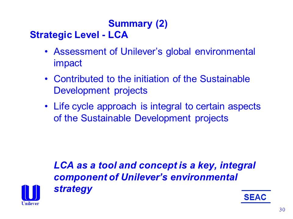 environmental strategy unilever essay Dabur – honey, chyavanprash, strategies for success early-mover advantage – strong initial products and unexposed market understanding the customer perception and the indian market successful m&a – kissan, brookbond, lipton, tomco need essay sample on hindustan unilever limited.