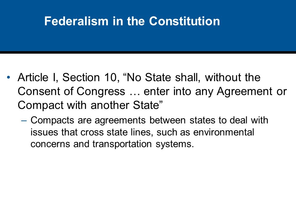 the federalism in the united states Federalism in the 2016 election  government could or should charter a national bank of the united states or leave management of the  of federalism 43,.