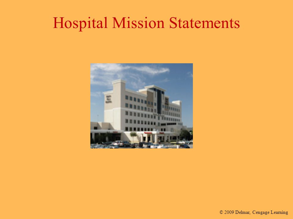 3 hospitals mission statements Mission to improve the health of the people and communities we serve vision to be the river bend's health care delivery organization that: delivers compassionate, skilled and patient-centered care in partnership with physicians, nurses and other health care practitioners.