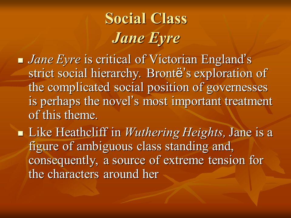 Social Class Jane Eyre