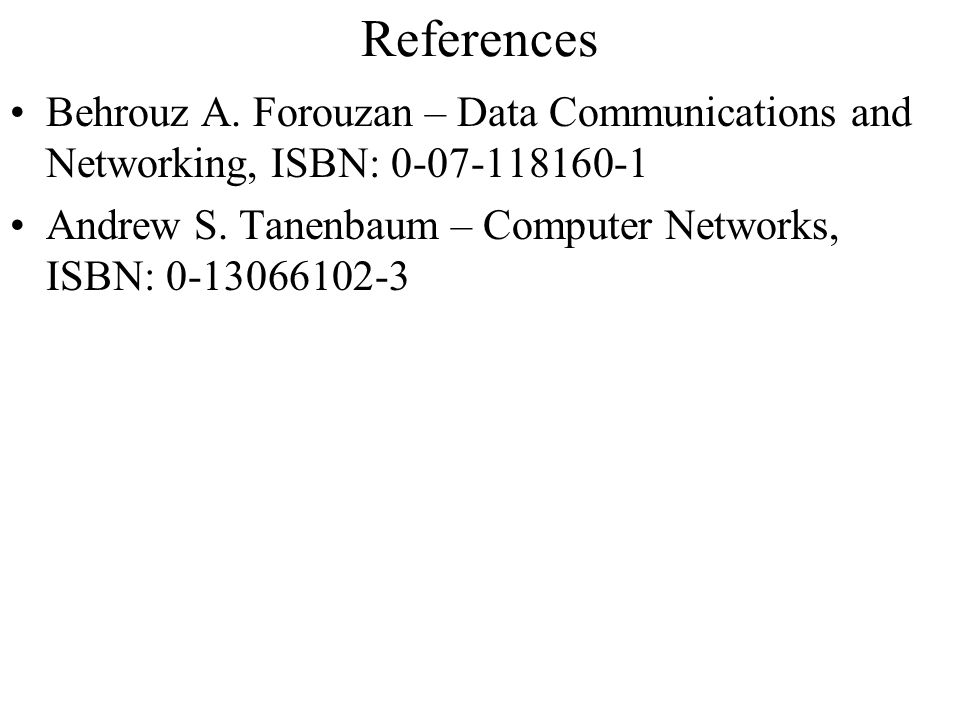 """chapter 1 forouzan data communications and Chapter 1 overview of tcp/ip all of us who  the name """"tcp/ip"""" refers to an  entire suite of data communications protocols the suite gets its name from two of ."""
