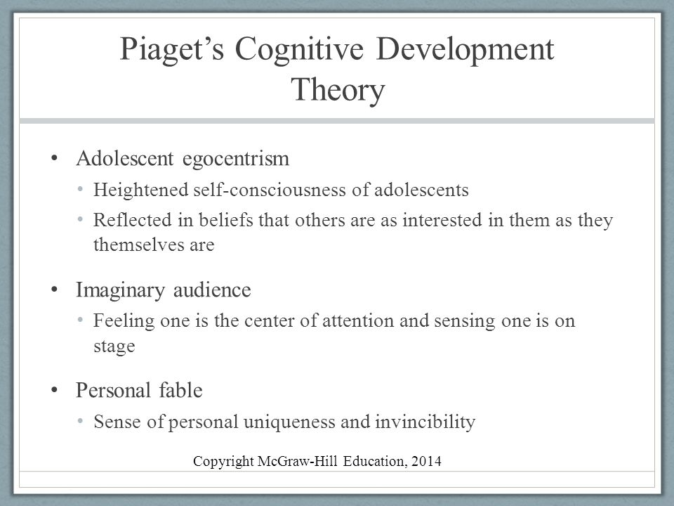 Children learn by doing piaget