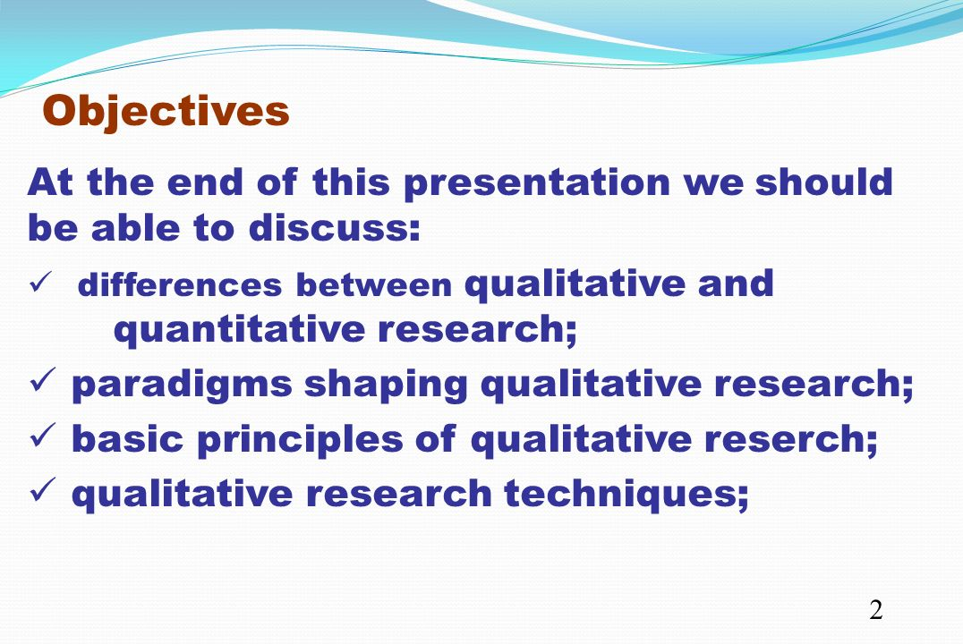 Content: Qualitative Research Vs Quantitative Research