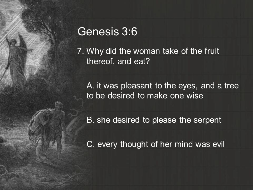 Genesis chapter three questions ppt video online download 14 genesis 36 sciox Choice Image