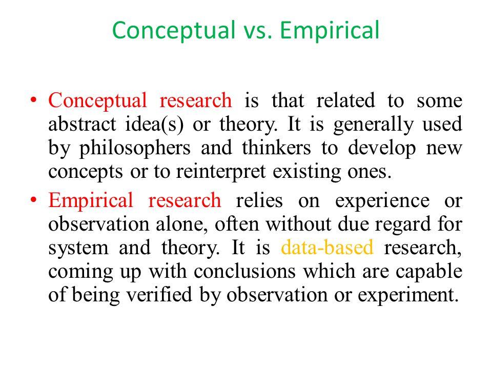 (PDF) Empirical and Non-Empirical Methods - ResearchGate