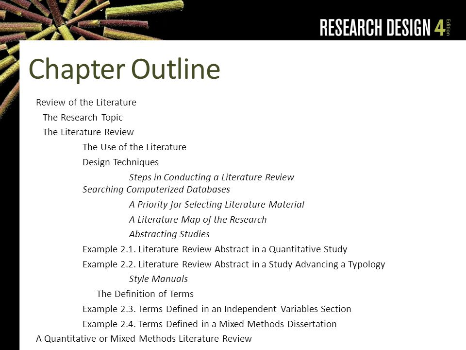 literature review on independent variables