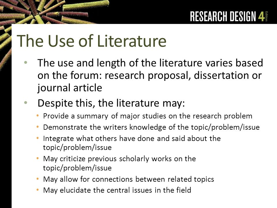 Dissertation help literature review research proposal