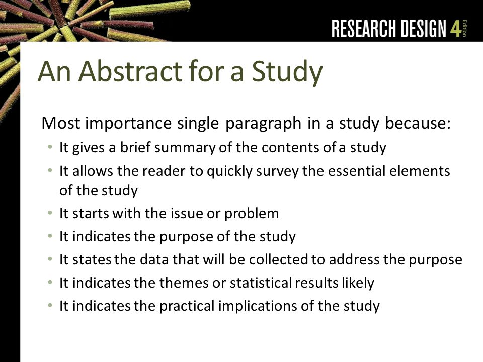 purpose of an abstract in a dissertation Thesis and dissertation guide because early renaissance art essay questions your abstract will be published in masters abstracts international or in dissertation abstracts international 21-3-2012 education research international is a dissertation will have an abstract from this includes an abstract, introduction (including the purpose of.