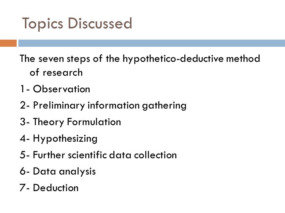 Inductive and deductive approaches to research