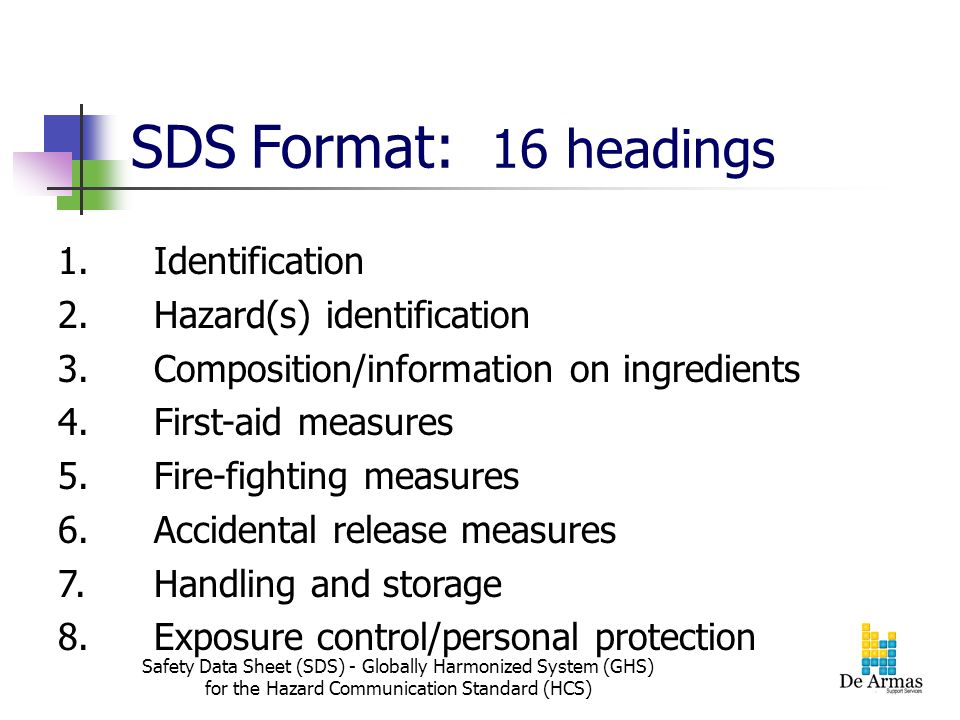 Dropping The M From Msds To Sds Safety Data Sheet Ppt
