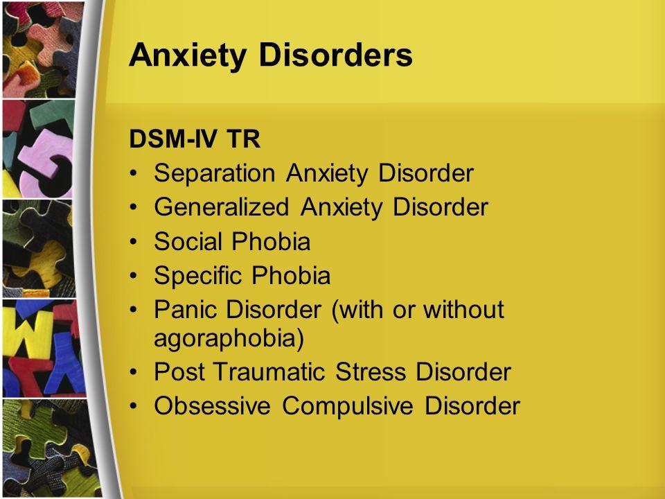 generalized anxiety