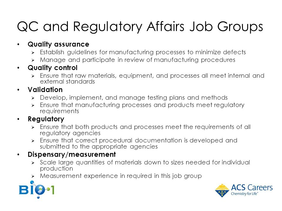 Cover letter regulatory affairs position