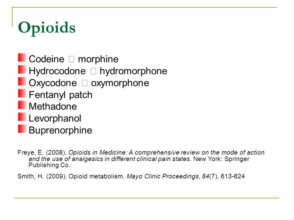 Codeine dosage compared to hydrocodone