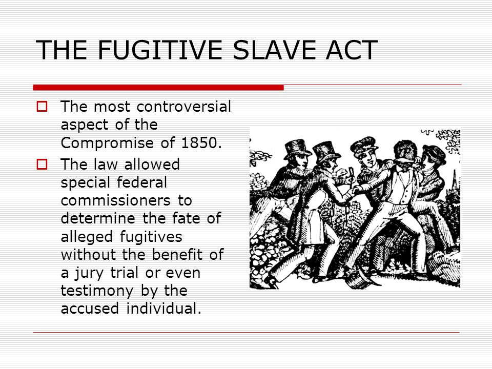 fugitive slave act 1850
