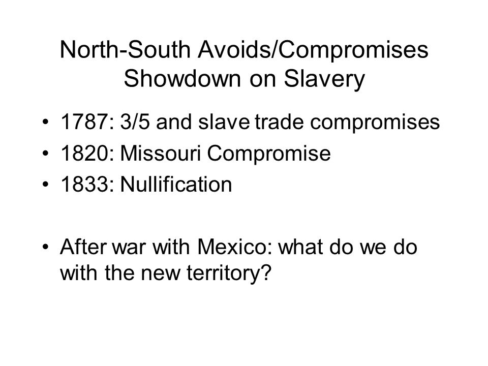 compromises of 1820 1860 The missouri compromise of 1820 (apush review - period 4) - duration: 9:33 tom richey 39,155 views 9:33 the 10 worst cities in missouri explained -.
