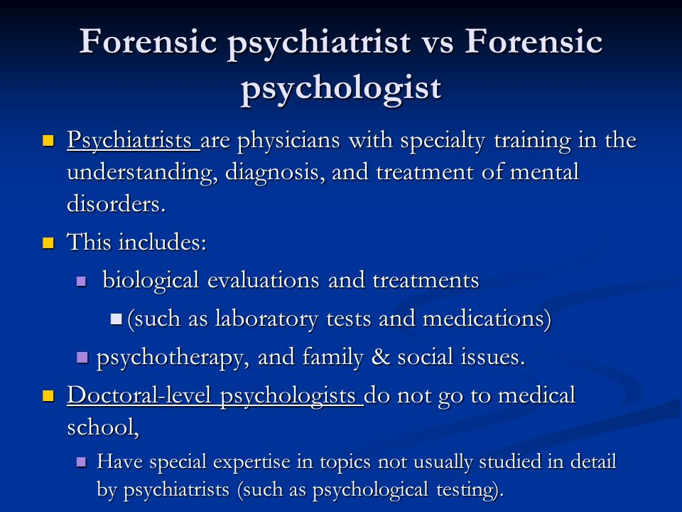 what is forensic psychology pdf