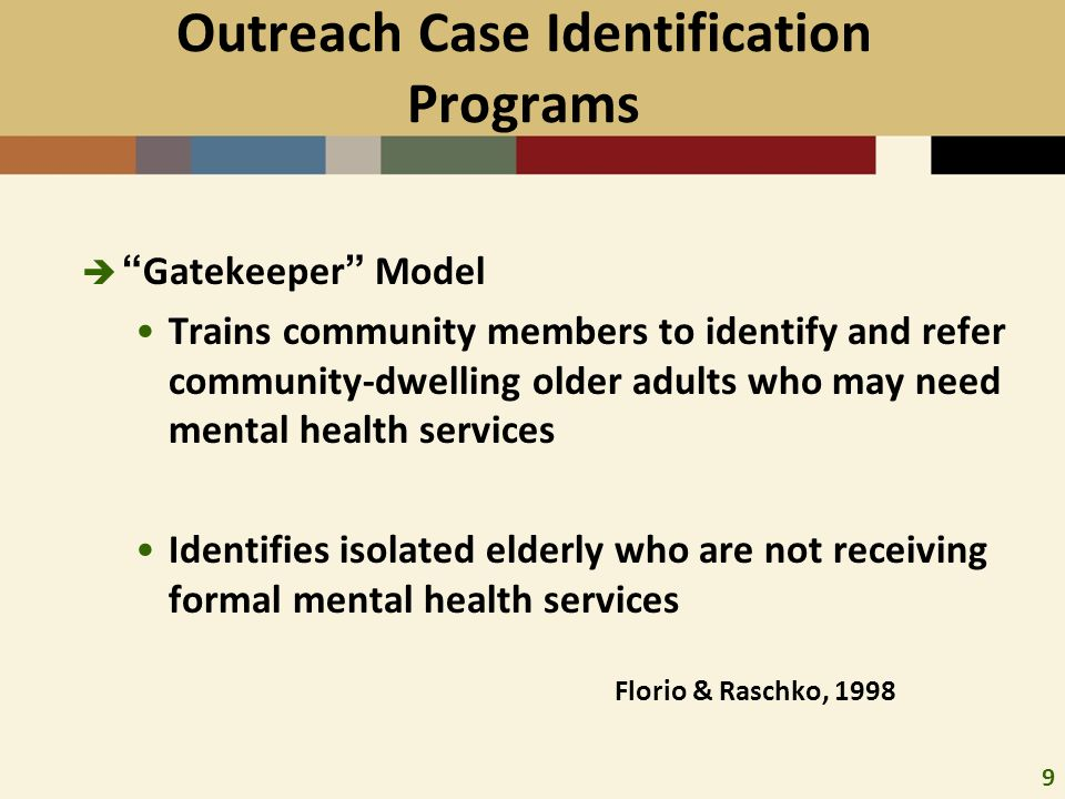 "indigenous older adults with depression Dispelling the myths of aging  we have previously reported on the ""invisibility"" of depression among older adults due to  be knowledgeable of indigenous."