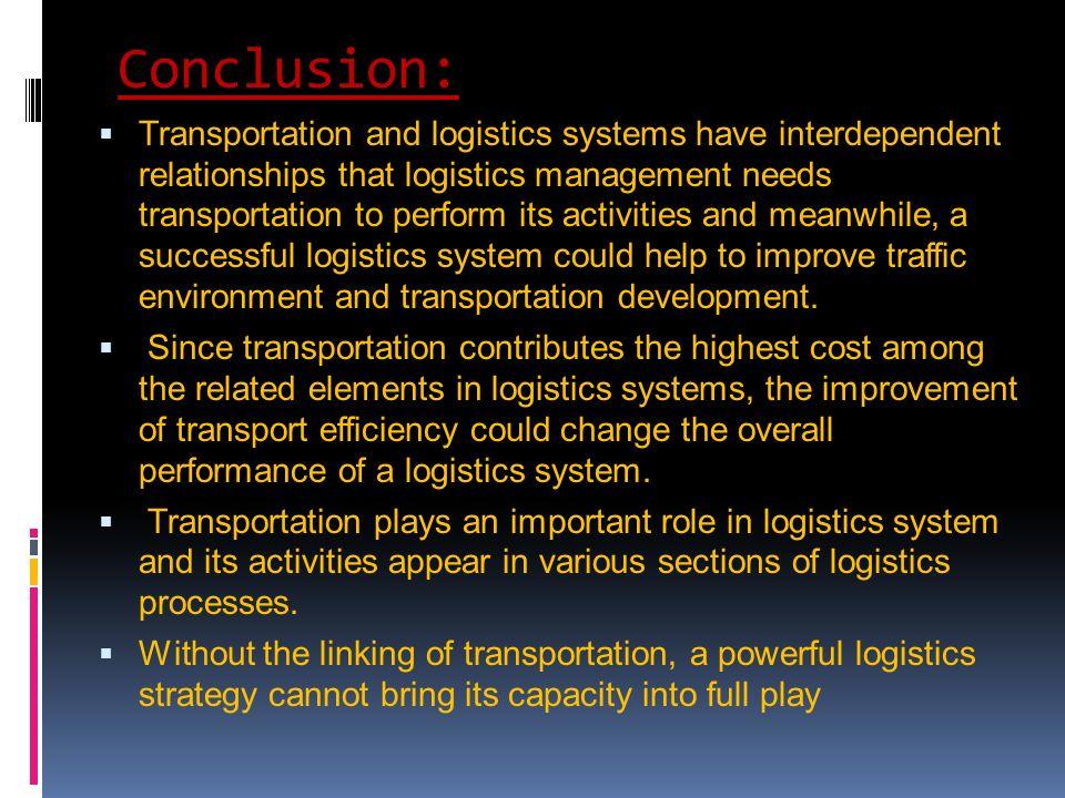 Conclusion about economic system