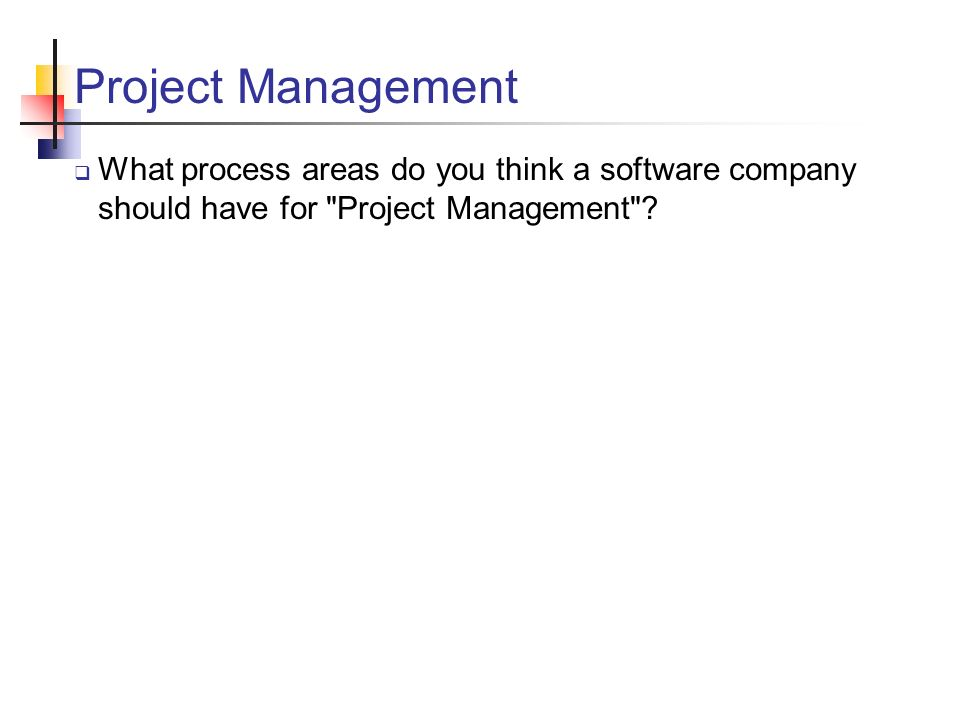 what does project management software do