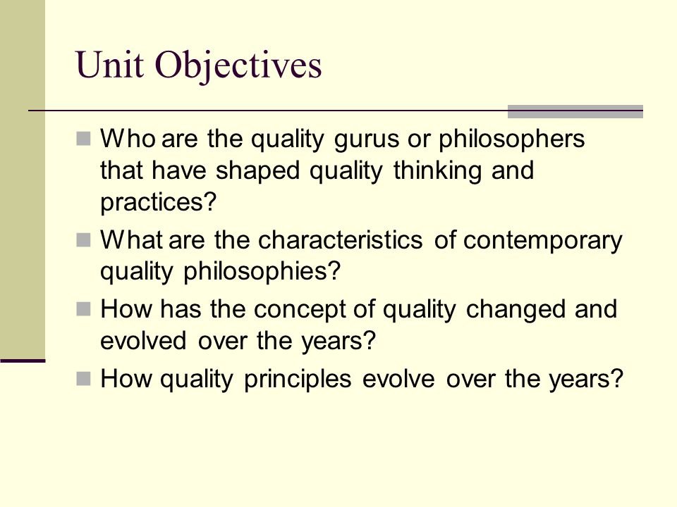 contributions of four quality gurus to The quality gurus—dr w crosby espoused his basic theories about quality in four absolutes of and lancaster award for his contributions to quality and.