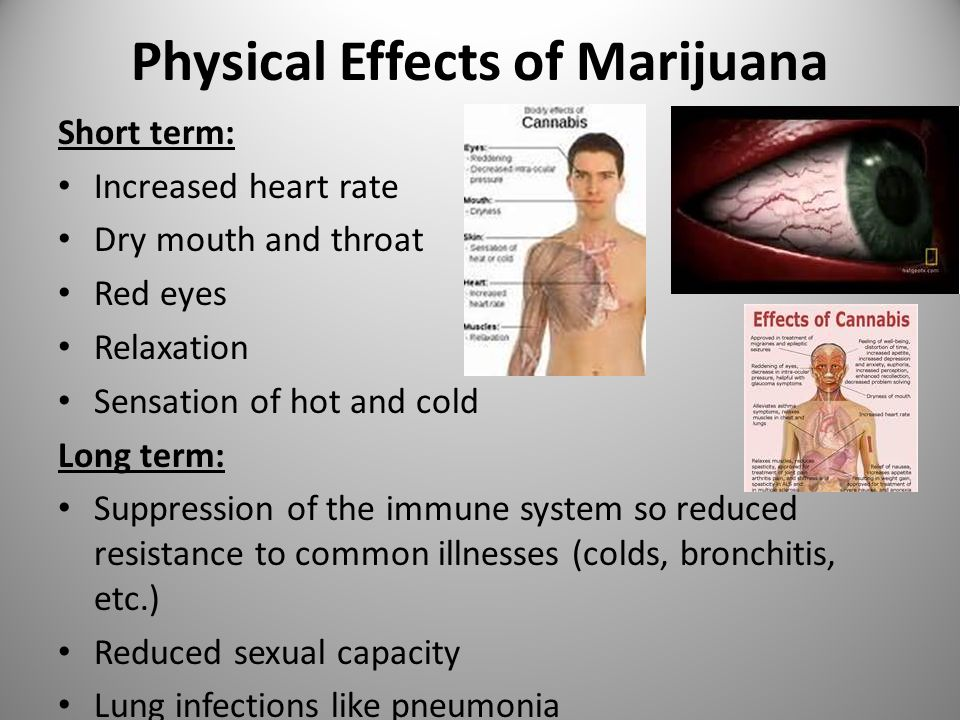 physiological effects of sex