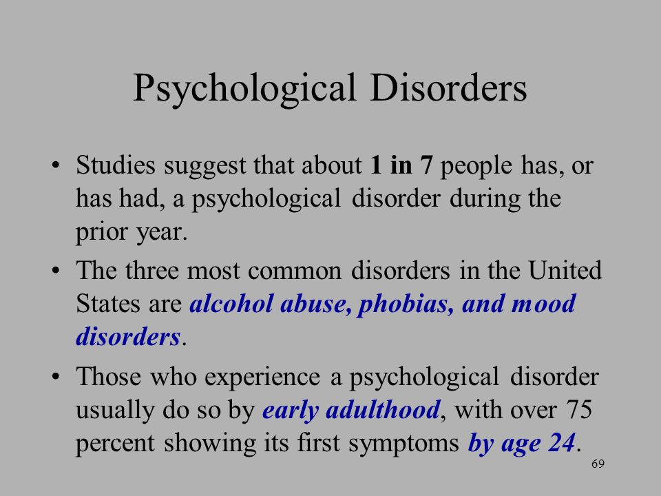 psychological disorders in mass media nell A sample of research exploring trends in adolescent media use and depression, memory amplification following trauma, perceptual inference in autism spectrum disorders, and statistical learning applied to diagnostic predictions.