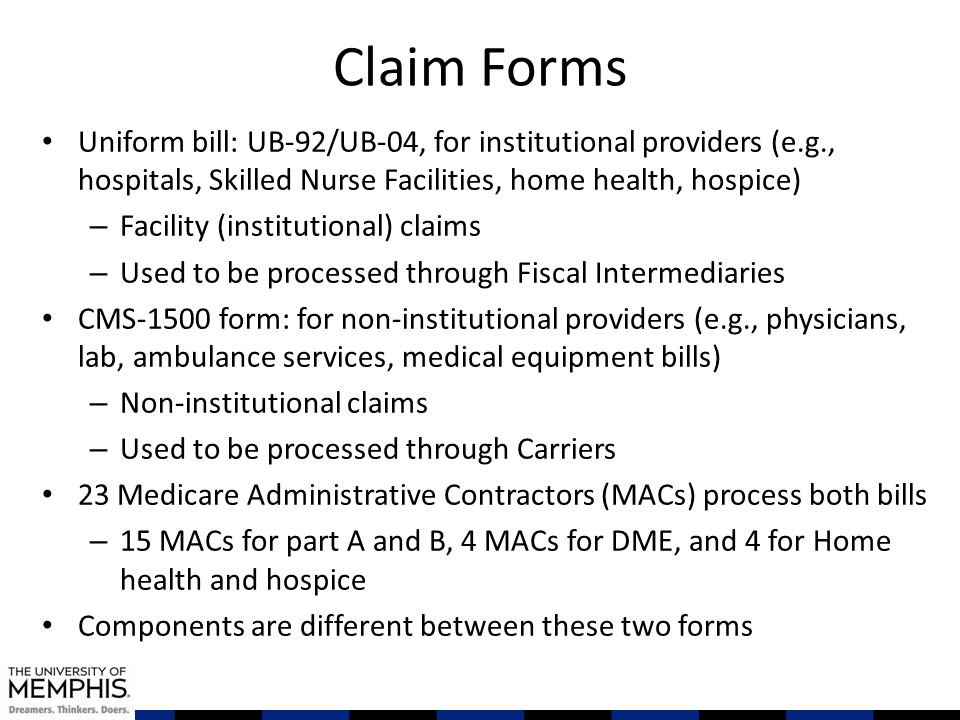 Research With Medicare Claim Data - ppt download