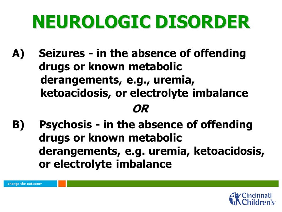 neurologic disorder Read chapter 3 neurologic disorders : childhood immunization is one of the  major public health measures of the 20th century and is now receiving special a.