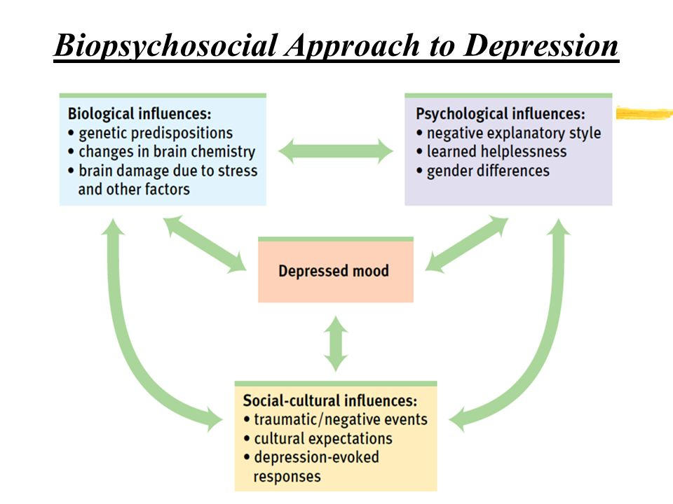 psychosocial theory in depression Psychological theories of depression  the problem with this theory is that depression could be common in some families due the social learning theory,.