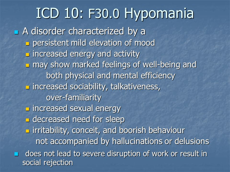 an introduction to the bipolar disorder the mood disorder characterized by elevated mood and disrupt