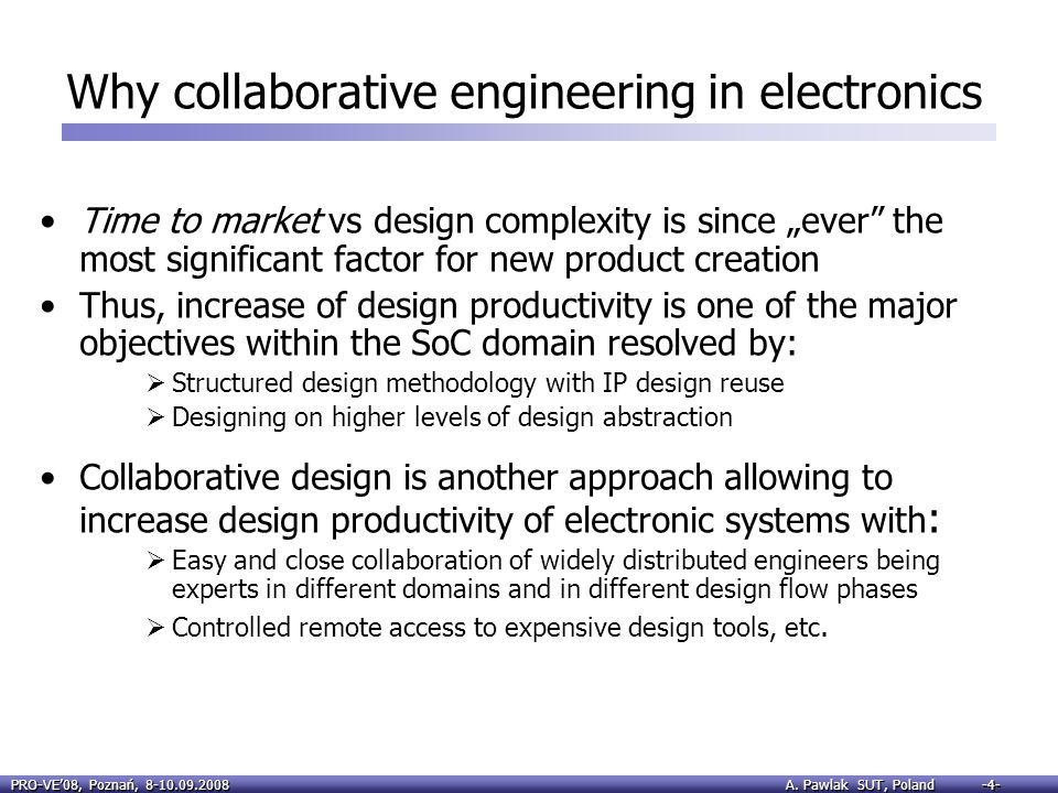 Why collaborative engineering in electronics